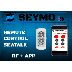 Remote control for Raymarine
